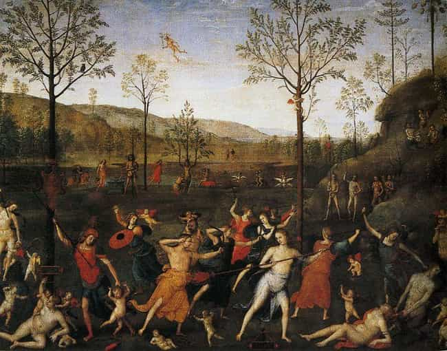Combat of Love and Chastity is listed (or ranked) 1 on the list Famous High Renaissance Artwork