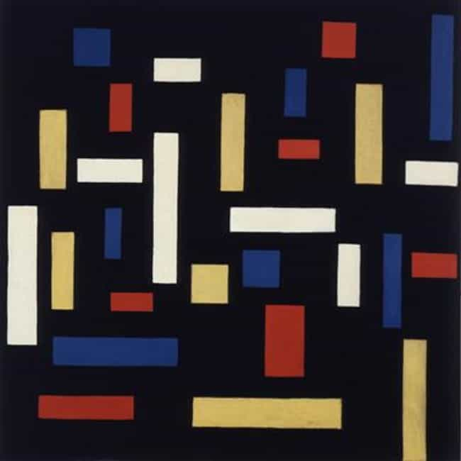 Composition VII (The Thr... is listed (or ranked) 3 on the list Famous De Stijl Artwork