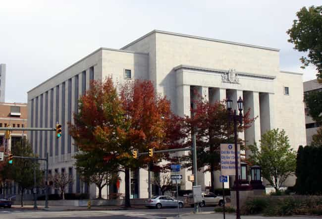 Dauphin County Courthouse is listed (or ranked) 3 on the list List of Famous Harrisburg Buildings & Structures