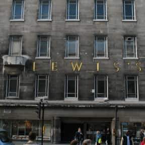 Lewis's is listed (or ranked) 12 on the list List of Failed Businesses and Unsuccessful Companies