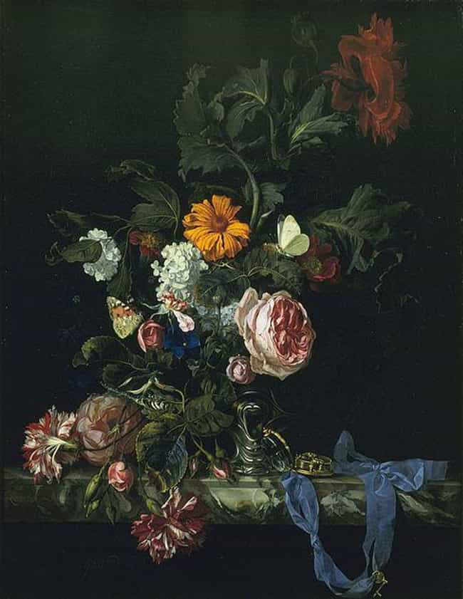 Flower Still Life with a Watch is listed (or ranked) 4 on the list Famous Still Lifes from the Baroque Movement