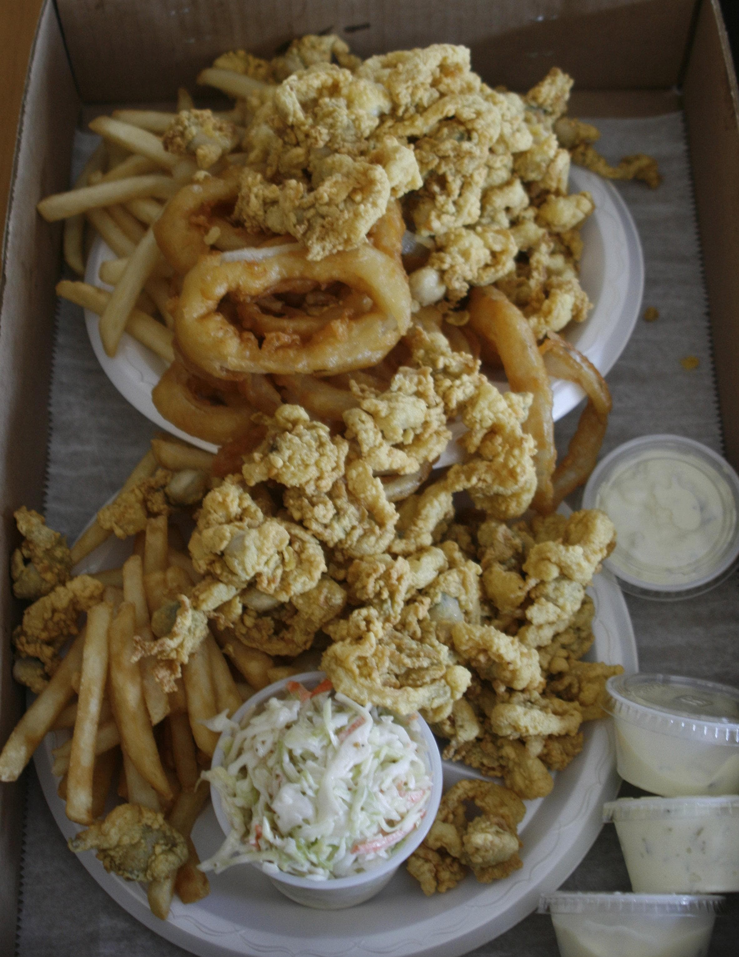 Fried clams on Random Most Delicious Foods to Dunk of Deep Fry