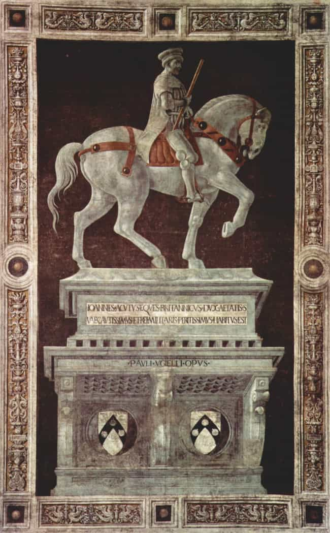 Funerary Monument to Sir... is listed (or ranked) 2 on the list Famous Italian Renaissance Frescos