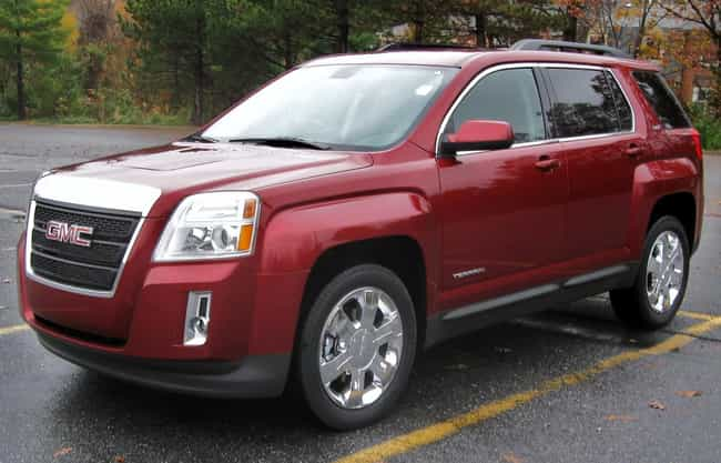 GMC Terrain is listed (or ranked) 3 on the list Full List of GMC Models
