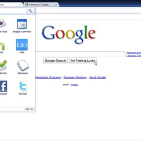 Google Chrome OS is listed (or ranked) 11 on the list List Of All Google Software