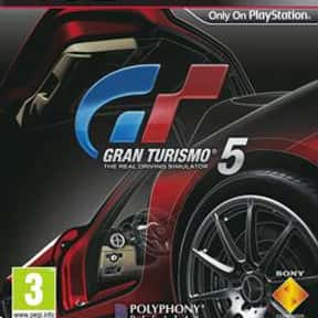 Gran Turismo 5 is listed (or ranked) 4 on the list The Best Gran Turismo Games