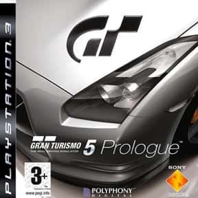 Gran Turismo 5 Prologue is listed (or ranked) 10 on the list The Best Gran Turismo Games