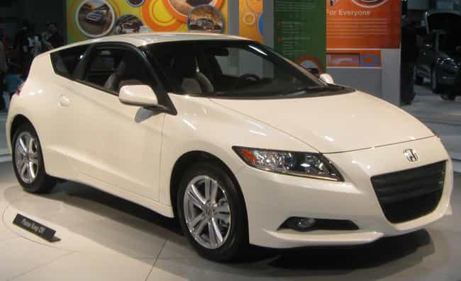 Honda CR Z Is Listed Or Ranked 1 On The List All