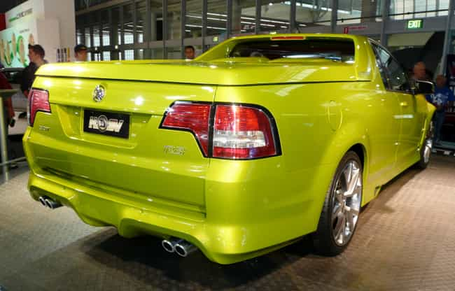 HSV Maloo is listed (or ranked) 1 on the list Full List of HSV Models