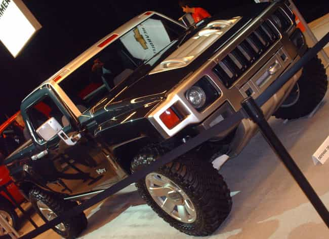 Hummer H3T is listed (or ranked) 4 on the list Full List of Hummer Models