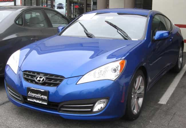 Hyundai Genesis Coupe Is Listed Or Ranked 17 On The List Full Of