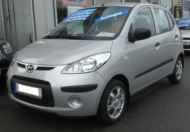 Hyundai I10 Is Listed Or Ranked 14 On The List Full Of