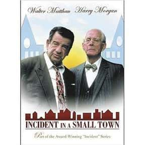 Incident in a Small Town is listed (or ranked) 4 on the list The Best Stephanie Zimbalist Movies
