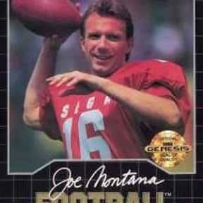 Joe Montana Football is listed (or ranked) 24 on the list The Best American Football Games of All Time