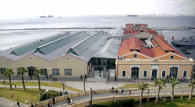 Konak Pier is listed (or ranked) 4 on the list List of Gustave Eiffel Architecture