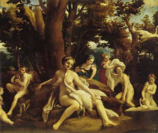 Leda with the Swan is listed (or ranked) 4 on the list Famous History Paintings by Antonio Da Correggio