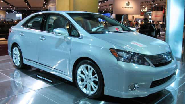 Lexus HS is listed (or ranked) 3 on the list Full List of Lexus Models