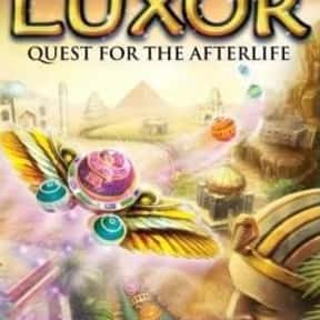 Luxor: Quest for the Afterlife is listed (or ranked) 4 on the list MumboJumbo Games List
