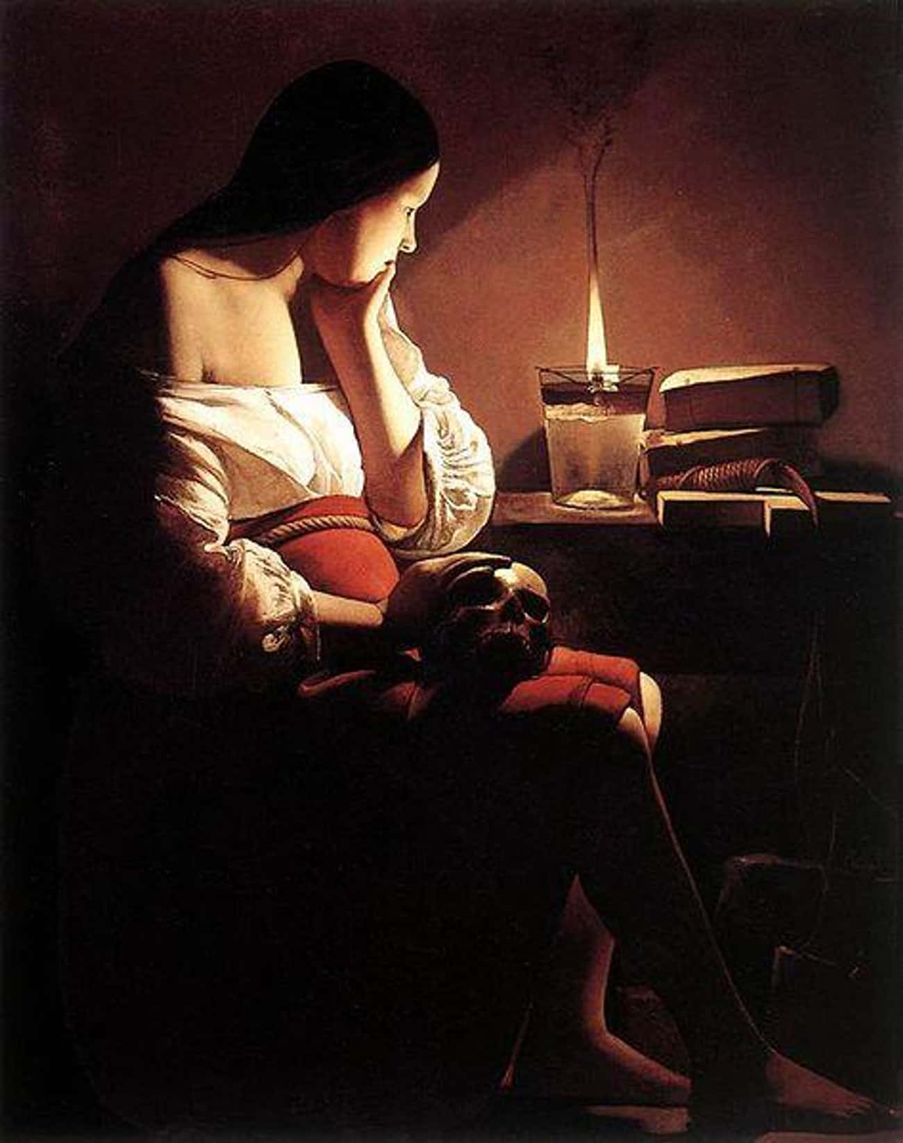 Magdalen with the Smoking Flame