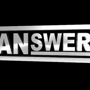 Manswers is listed (or ranked) 5 on the list The Best Spike TV Shows