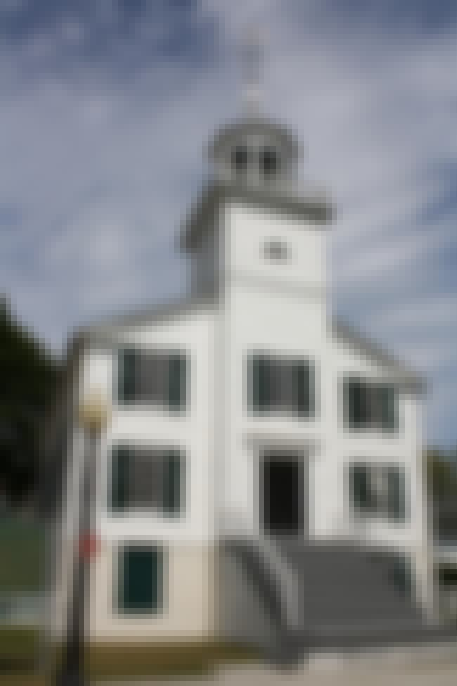 Mission Church is listed (or ranked) 4 on the list Mackinac Island Architecture: Famous Landmarks and Buildings