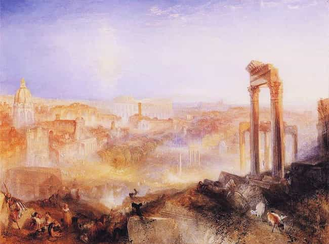 Modern Rome – Campo Vacc... is listed (or ranked) 4 on the list Famous J. M. W. Turner Paintings