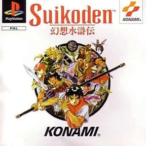 Suikoden is listed (or ranked) 5 on the list The Best Playstation 1 (PS1,PSX,PSOne) RPG