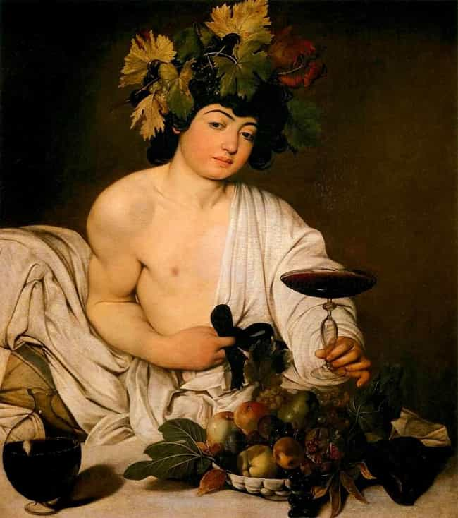 Bacchus is listed (or ranked) 4 on the list List of Famous Caravaggio Artwork