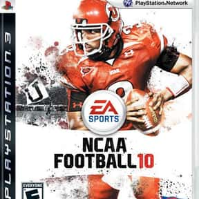 NCAA Football 10 is listed (or ranked) 9 on the list The Best Xbox 360 Football Games