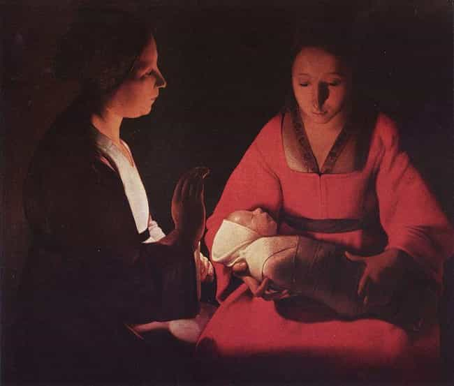 Newly Born Infant is listed (or ranked) 2 on the list Famous Georges de La Tour Paintings