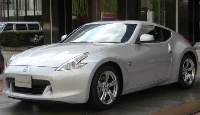 nissan 370z is listed or ranked 3 on the list full list of nissan