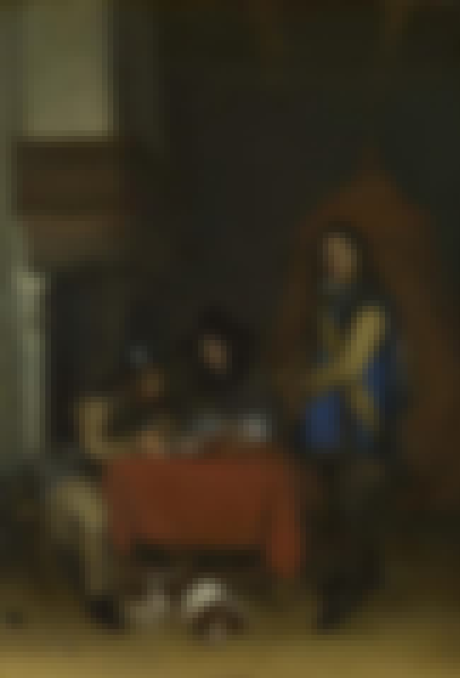 Officer Dictating a Letter Whi... is listed (or ranked) 3 on the list Famous Genre Paintings by Gerard Ter Borch