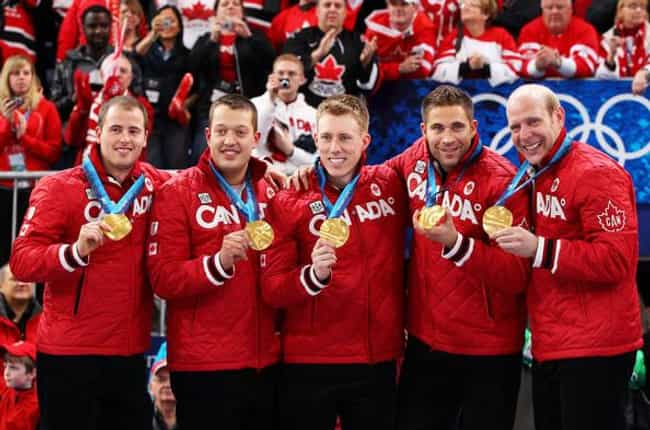 John Morris is listed (or ranked) 2 on the list Famous Male Curlers