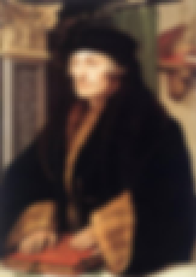 Portrait of Erasmus of Rotterd... is listed (or ranked) 4 on the list Famous Hans Holbein the Younger Paintings