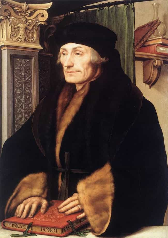 Portrait of Erasmus of R... is listed (or ranked) 4 on the list Famous Hans Holbein the Younger Paintings