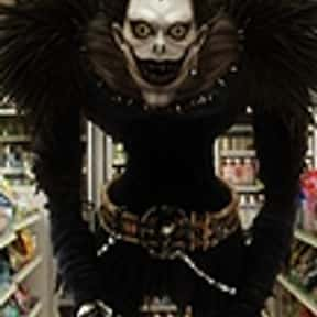 Ryuk is listed (or ranked) 21 on the list The Very Best Anime Characters