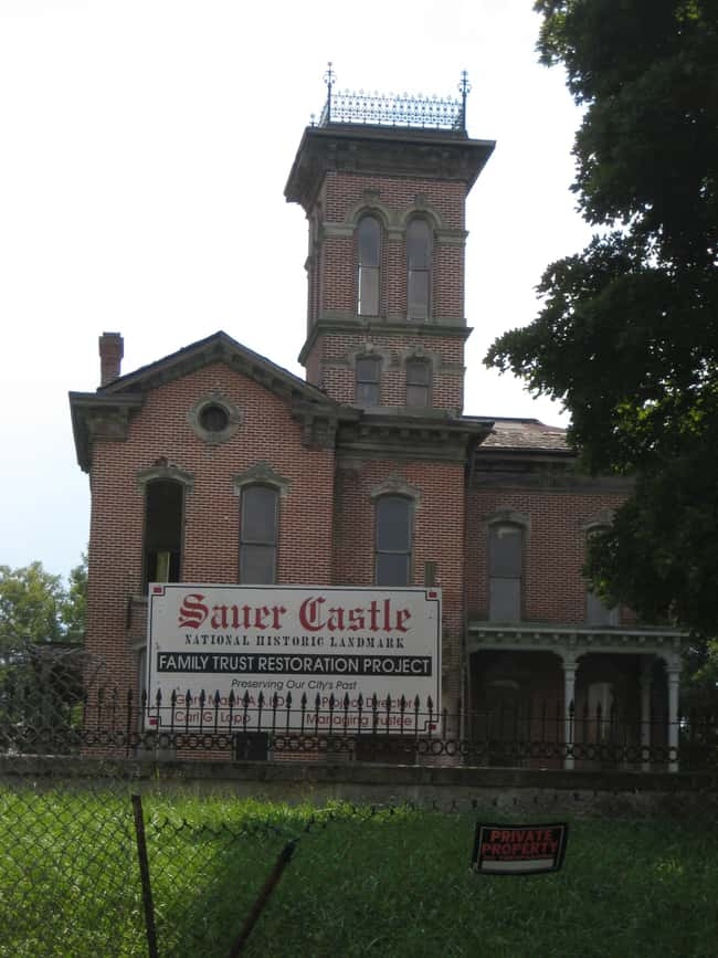Sauer Castle is listed (or ranked) 6 on the list 11 Intense Crimes And Stories Fueling Famous Hauntings