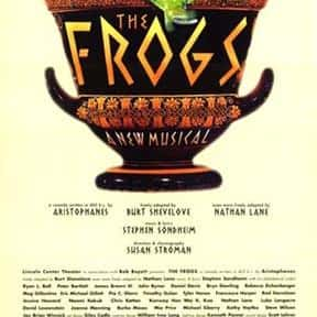 The Frogs is listed (or ranked) 20 on the list Stephen Sondheim Plays List