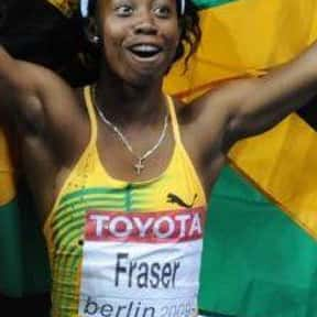 Shelly-Ann Fraser is listed (or ranked) 19 on the list The Best Female Athletes of All Time