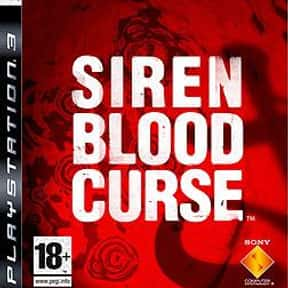 Siren: Blood Curse is listed (or ranked) 11 on the list The Best PS3 Survival Horror Games