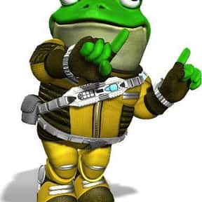 Slippy Toad is listed (or ranked) 17 on the list The Best Gamecube Characters