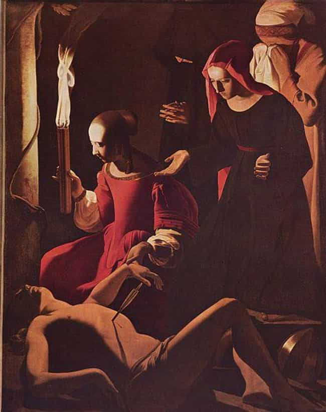 St Sebastian Attended by... is listed (or ranked) 4 on the list Famous Georges de La Tour Paintings