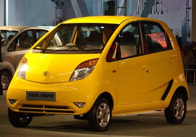 Tata Nano is listed (or ranked) 4 on the list Full List of Tata Models