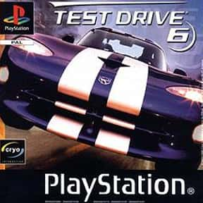 Test Drive 6 is listed (or ranked) 25 on the list The Best PlayStation Racing Games