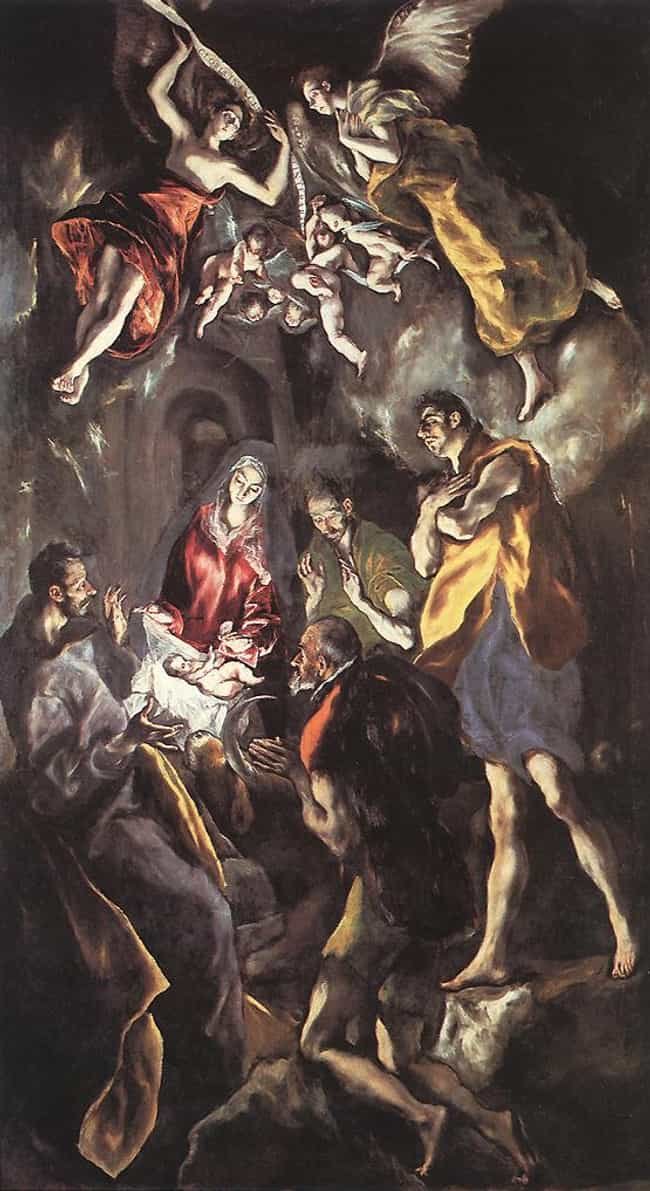 The Adoration of the She... is listed (or ranked) 4 on the list Famous Spanish Renaissance Paintings