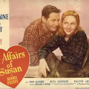 The Affairs of Susan is listed (or ranked) 2 on the list The Best Movies That Take Place In Rhode Island