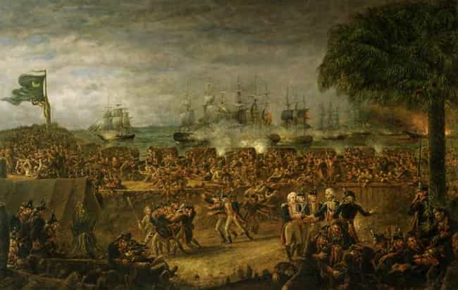 The Battle of Fort Moult... is listed (or ranked) 4 on the list Famous John Blake White Paintings