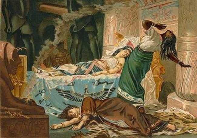 The Death of Cleopatra ... is listed (or ranked) 5 on the list Famous Juan Luna Paintings