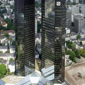 Deutsche Bank is listed (or ranked) 10 on the list Companies Founded in 1870