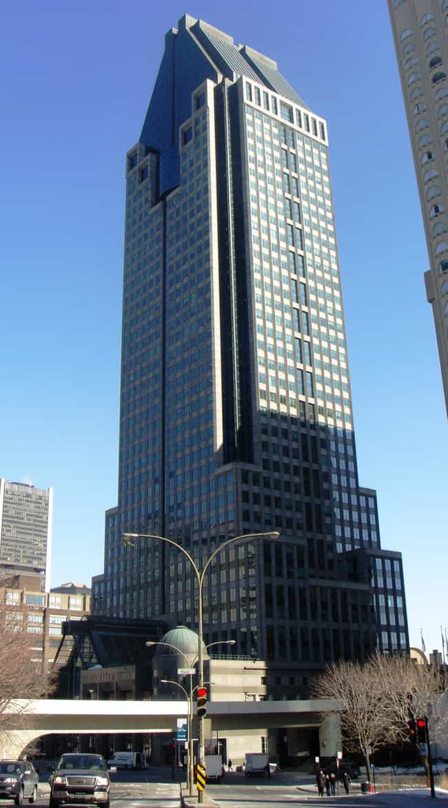1000 de La Gauchetière is listed (or ranked) 1 on the list List of Famous Montreal Buildings & Structures